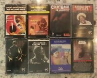 Count Basie 8 Cassette Tape Lot RARE OOP Jazz Blues Japanese  Verve Records