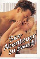 Sex-Abenteuer zu zweit, Erotik-Heft, erotische Fotos, Orion-Verlag, Erotika 1989