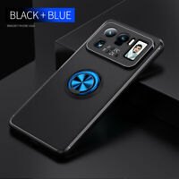 For Xiaomi Mi 11 Ultra Shockproof Magnetic Ring Holder Stand Rubber Case Cover