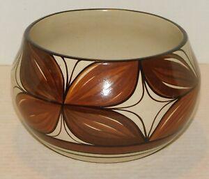 Vintage Mid Century MCM Hawaiian Pottery Large Vase Planter KAPA DESIGNS