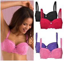Twin Pack New Cellbes of Sweden Underwired Lightly Padded Bras 34A 36A 38A