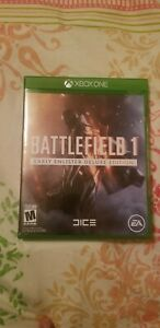 Battlefield 1 Early Enlister Deluxe Edtion - Xbox One Xb1 Fast Shipping