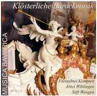 Musica Bavarica CD Klösterliche Barockmusik