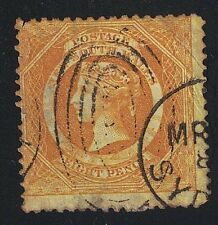 Australia - New South Wales 1854 #30a Yellow Used - CV $1800 @ 10% of CV