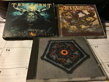 TESTAMENT 3 CD LOT: DARK ROOTS OF EARTH, FORMATION OF DAMNATION, THE RITUAL
