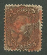 UNITED STATES #95 USED RED CANCEL