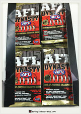 2005 Select AFL Dynasty Trading Cards Sealed Loose Packs Unit of 18--packs