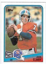 John Elway 1988 Topps Football , Sammelkarte