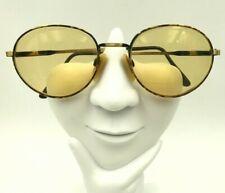 Vintage Jazz Europa Parker Tortoise Gold Metal Oval Sunglasses Eyeglasses Frames