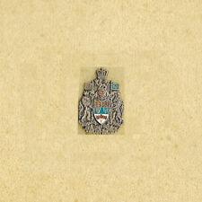 British Columbia Canada Coat of Arms SPLENDOR SINE OCCASU Govt Vintage Lapel Pin
