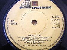 """ARLO GUTHRIE - UKULELE LADY  7"""" VINYL"""