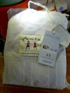 Merino Kids sleeping bag 2 Years to 4 Years Go Go Winter Weight,