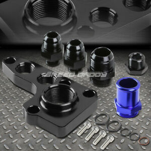 FOR 91-12 FORD MODULAR V8 4.6/5.4 ALUMINUM REMOTE OIL FILTER RELOCATION ADAPTER