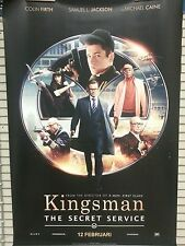 Large movie banner / poster - Kingsmen The Secret Service  200 x 150 cm.