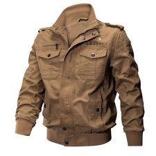 TACVASEN Mens MA-1 Jacket Pilot Military Jacket Coats Air Force US Army Jackets