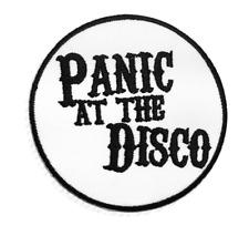 Patch Toppa Panic At The Disco Abbigliamento Marchio Ricamata Termoadesiva 7cm