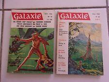 lot 2 revues de sf GALAXIE n° 19 et 23 ( 1965 - 1966) nouvelles  Philip K DICK