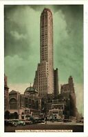 Vintage Postcard - General Electric Building GE New York NY Un-Posted #3367