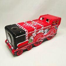 The Silver Crane Company Polar Bear Express Christmas Train Tin
