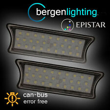 FOR BMW 5 SERIES E60 2003-2010 27 LED INTERIOR ROOF COURTESY LIGHT LAMPS PAIR