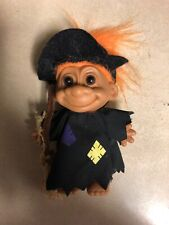 """Vintage 4 1/2"""" Russ Halloween Costume Witch Troll"""