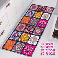 Floor Mat Rugs Non-slip Kitchen Home Bathroom Door Entrance Carpet Bohemian