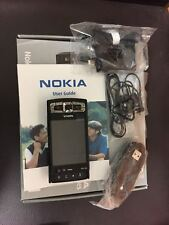 NOKIA N95 8GB 3G MOBILE PHONE BLACK UNLOCKED NEW CONDITIONED (FULL BOX)