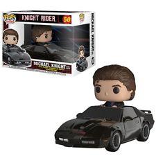 Knight Rider Michael Knight with KITT Pop! Vinyl Vehicle #50