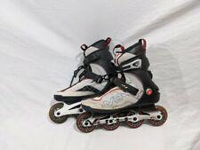 K2 Moto 84 Men's White, Black, and Red Recreation Inline Skates SIZE 10
