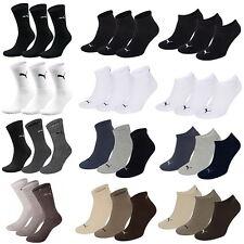 Puma Socken 9 12 15 24 Paar Sneaker Quarter Sportsocken Tennis Freizeitsocken