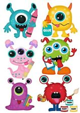 Monsters Childrens Nursery Wall Stickers