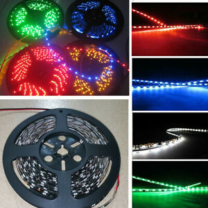 4X 5M 300Leds 335 Side Glow Led Strip Lights For Car Home Contour Decor Lamp 12V