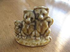Tree Little Bears Fairytale Figurine ( Wade Red Rose Tea Porcelain ) Whimsies