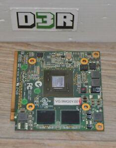 Carte Graphique - Nvidia - VG.9MG0Y.001 - MXM II - 256 Mo - Non Testé Ok