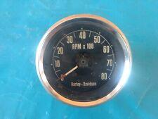 Harley Davidson Tachometer Iron Head Sportster 1-1-E