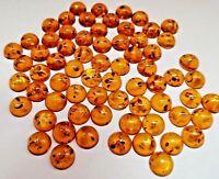 Wholesale Lot Round 10 MM Honey yolk Baltic Amber Loose Cabochon Gemstones AAA