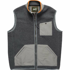 HOWLER BROS. Men's Chisos Fleece Vest - M - Mountian Grey
