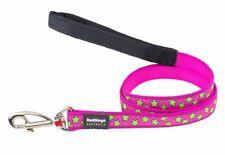 RED DINGO PINK STAR DESIGNER LEAD FOR DOG  / PUPPY