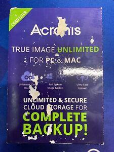 Acronis True Image Unlimited For PC & Mac - 1PC  TIU1-18-MB-RT-WM-EN
