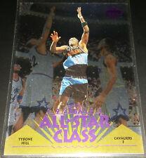 Tyrone Hill 1995-96 Upper Deck ALL-STAR CLASS Insert Card (no.AS12)