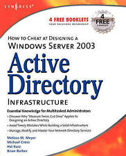 How to Cheat at Designing a Windows Server 2003 Active Directory-ExLibrary