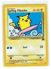 Pokemon Surfing Pikachu #28 Black Star PROMO Card MINT NEVER PLAYED