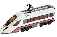 Lego City High-Speed Passenger Train Railway White END Carriage from 60051 - NEW