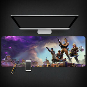 Fortnite Game Extended XXL Gaming Mouse Pad Desk Mat 90x40cm 3mm Stitched T1