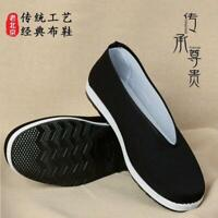 Men Tradition Chinese Espadrille Slipper Kung Fu Flat Martial Art Soft New Shoes