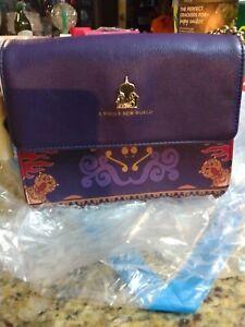 Disney Loungefly Aladdin Crossbody Magic Carpet Bag Purse NWT