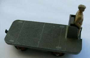 Dinky Meccano Die Cast Model Vehicle 14a B.E.V. Truck Grey (Shop Ref D023)