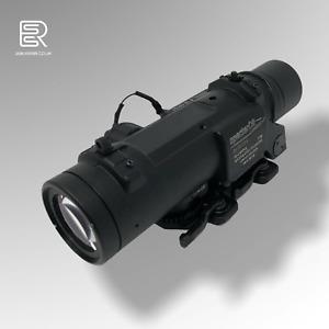 ELCAN SpectorDR 1X/4X Scope Red Dot Illuminated Sight - Metal Airsoft Black ESSR