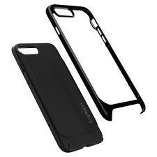 Spigen Neo Hybrid Herringbone Bumper Case for iPhone 8 Plus - Shiny Black