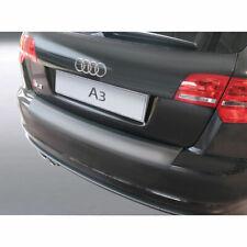 RGM Rear Black Bumper Protector For Audi A3 / S3 Sportback 5 Door 2007 - 2014